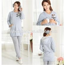 stylish colorful cotton post pregnancy clothing AK203