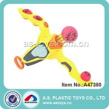 Grande arma de brinquedo de plástico bola de espuma