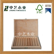 hot selling china factory suppliers selling FSC&SA8000 Customized wooden cigar boxes for wholesale