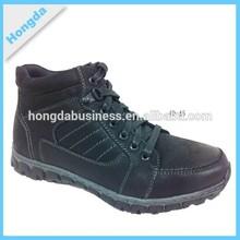 2015 OEM dark brown men short winter boot hiking boot