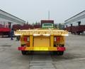 Trois essieux conteneur semi - remorque