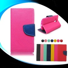 OEM Service Wallet Style Flip Cover Leather Case for Samsung Galaxy A3
