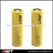 Hottest!!! High quality 18650 35amp 2500mah battery 3.7v li-ion battery lifepo4 48v battery pack