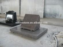 slant American style tombstone