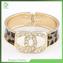 High-end diamond bangle bracelets, Korean letter bangle