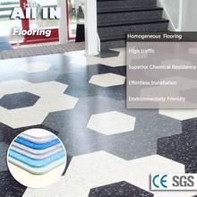 Oil resistance Environmental Friendly Plastic Flooring rattan wicker floor lamps