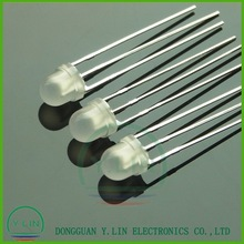 3mm 5mm two colored led 3 legs led diodes