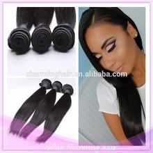 6A Brazilian virgin hair straight bundles Remy human hair weave extensions virgin brazilian hair