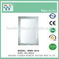 2014 cheap modern bathroom silver bevelled mirror