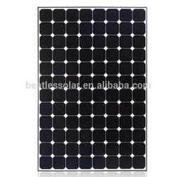 High Efficiency TUV Monocrystalline Solar panel 250w
