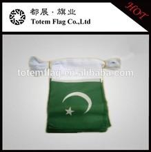 Pakistan Banner Fabric / Pakistan Bunting Flags