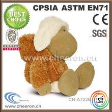 2014 hot selling cute plush toy sheep toys sheep lamb