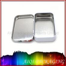 rectangular cookies metal tin box 2012 hot round tin box