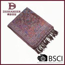 Professional Factory Sale! Various Design Popular 2013 erdos 45% cashmere 55% silk blended plain shawl