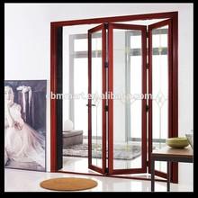 folding pvc door partition/soundproof folding interior door
