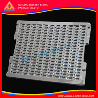 Disposable Black PS ESD Blister Plastic Tray for Electronic