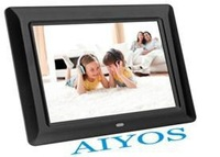 8 inch wood digital photo frame with Buil-in memory