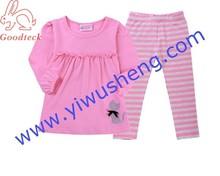 baby Christmas pajamas cheap 100% cotton baby cloth pajamas sleeping wear suit sets