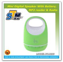 Portable wireless mini public pa speaker