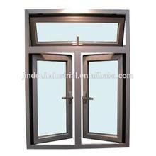 foshan aluminium factory/aluminum alloy window/double casement sash window