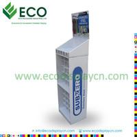 custom cardboard merchandisers , paper product rack , cardboard material display