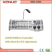 Disco/dj 240 dmx controller led lighting console