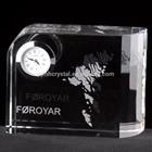 clock crystal trophy wedding favor MH-004