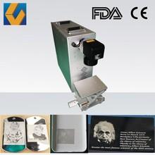 Raycus/IPG Fiber 10W 20W 30W 50W Laser Marking Machine for Photograph
