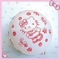 inflable impreso de helio globo de goma de la decoración