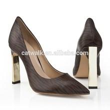 CATWALK-S1440260-3 2015 New Women Shoes Ladies Wedges Girls Sandals/Classic Pumps High Heel Shoes/Pointed-toe Zebra Pint Upper