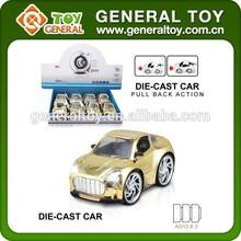 Metal Pull back Car Q Version Diecast Car