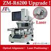 SMT rework soldering machine ZM R6200 bga chipset repairing tool IC reballing kit