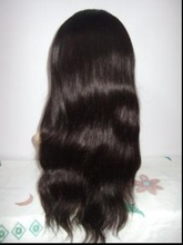 Chinese Virgin Wig With Bleached Knots No Shedding