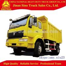 Sino SWZ 4x2 290hp 10 ton dump truck tipper truck tipper van