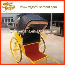 Chinese manual rickshaw / foot richshaw for sale