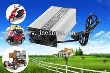 AC 110v 220v Input Lifepo4 Battery Charger for India Auto Rickshaw