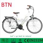 hot green city electric bike/city 28''/cheap bike 8fun/bafang 36v 10ah electric bike li ion battery