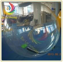 RLWB121 1.5m Diameter Transparent Water ball for Pool water bouncing ball
