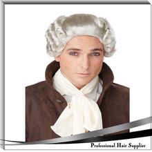YILU Party wig halloween barrister wig