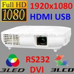 Original manufacturer 3LED 3LCD 3000 Lumens hologram projector 3d led,latest projector mobile phone