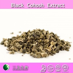 100% natural black cohosh extract black cohosh powder