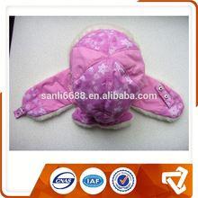 2014 New Product Earmuff Polar Fleece Cute Kid Winter Caps