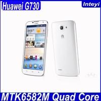 Original Huawei G730 3G Mobile 5.5 Inch Phone RAM/ROM 1GB/4GB Android 4.2.2 MTK6582M 1.2GHz Quad Core Huawei 3G mobile