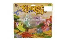 ABC-203909 Brand new finger puppets hot sale plush finger toys Dinosaur animal hand puppets