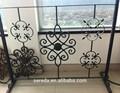 Decorativo y popular Seredaco valla de hierro forjado diseños