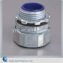 De aleación de Zinc o de aluminio del Metal conducto Flexible y accesorios conector tubo recto