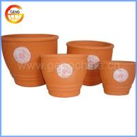 hot sale terracotta plain flower pots for garden decor wholesale