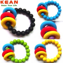Baby Chewable Safety Latex Free Silicone nfc Bracelet