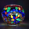 eşsiz Türk el yapımı cam mozaik mumluk ev dekorasyon ve düğün çin yapılan