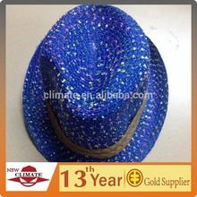 Boys And Girls Children's Beach hat, Sun Hat, Straw Jazz Hat